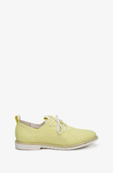 Туфли летние женские Estro лимонные ER00107262