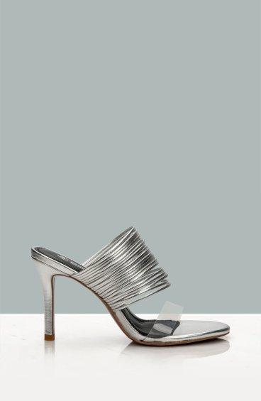 Босоножки женские Estro серебряные ER00107508