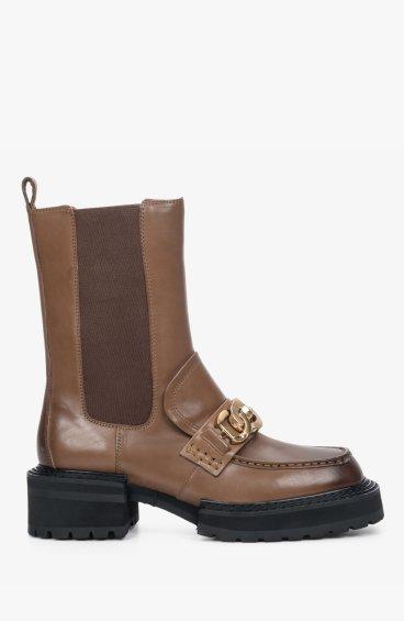 Челсі коричневі Estro ER00110267
