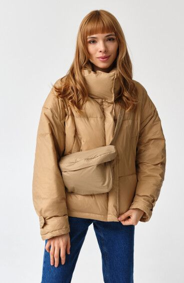 Куртка демісезонна пухова Estro ER00109091