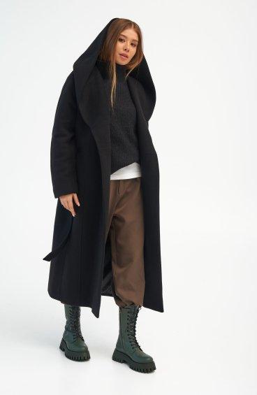 Пальто з капюшоном Estro ER00110286