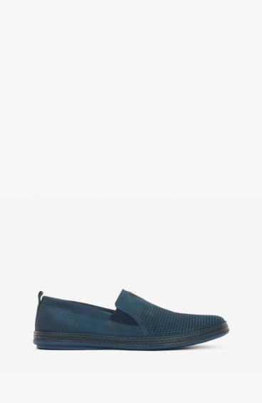 Мокасины синие Estro ER00102463