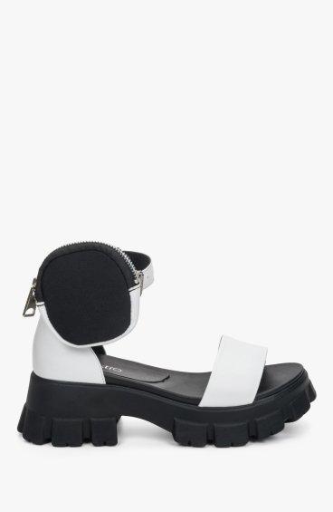 Босоніжки білі Estro ER00109459
