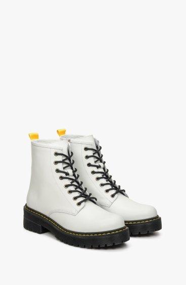 Ботинки белые Estro ER00108938