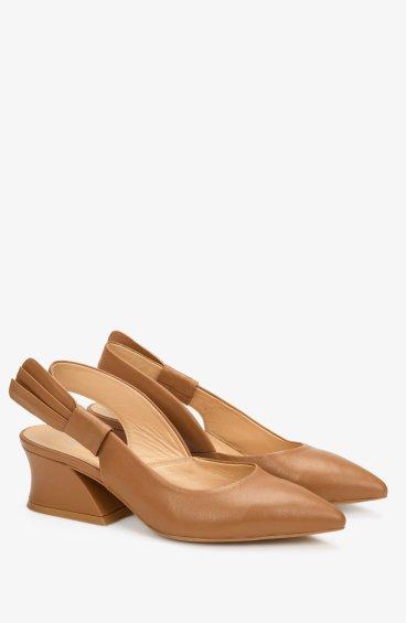 Слингбеки женские Estro коричневые ER00107099