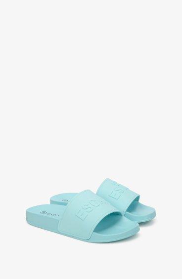 Шлёпанцы женские Estro голубые ER00107835