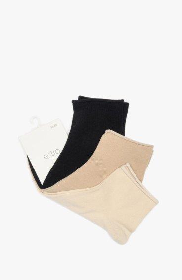 Носки женские (упаковка 3 шт.) Estro ER00109109