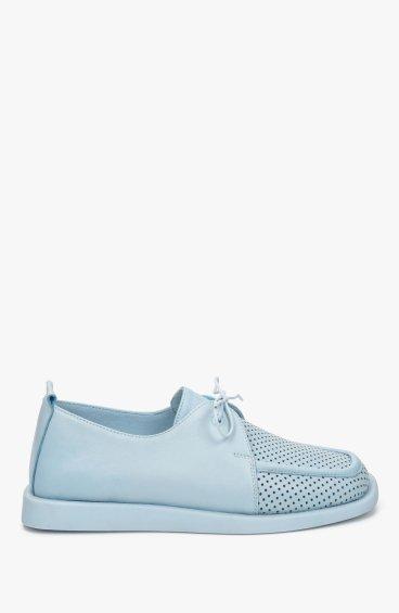 Туфли голубые Estro ER00109563