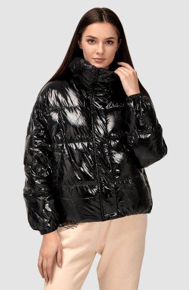 Куртка пуховая глянцевая ER00108554